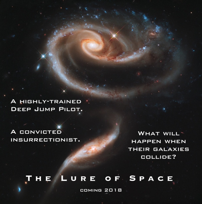 Lure of Space Colliding Galaxies
