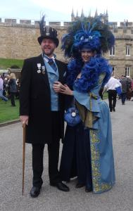 Blue Dress Steampunkers